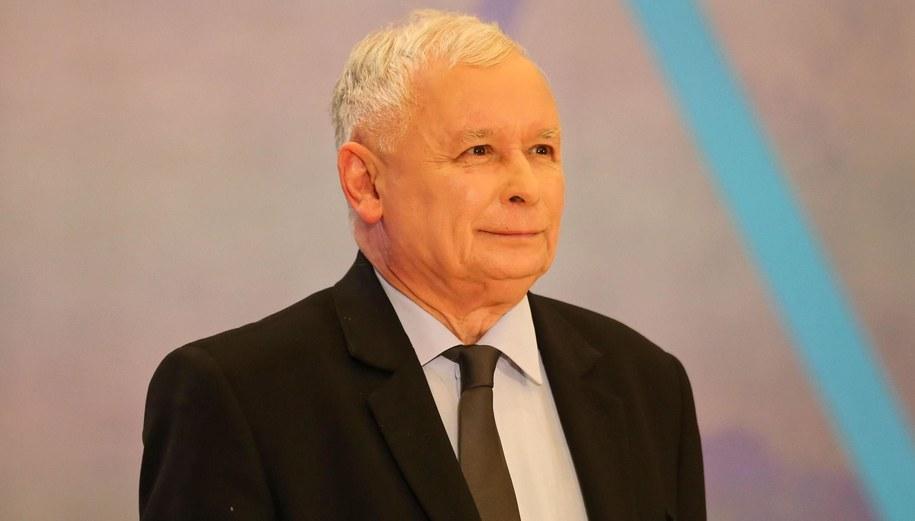 Jarosław Kaczyński / Andrzej Grygiel    /PAP