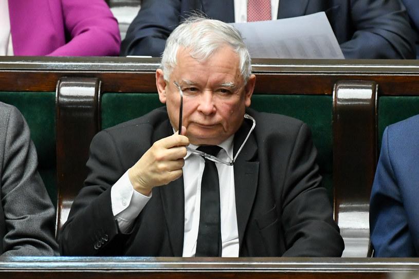 Jarosław Kaczyński /Jacek Dominski/ /Reporter