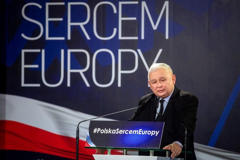 Jarosław Kaczyński /Pawel Skrabai /Reporter