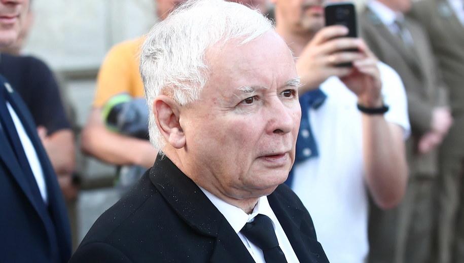 Jarosław Kaczyński //Łukasz Gągulski /PAP