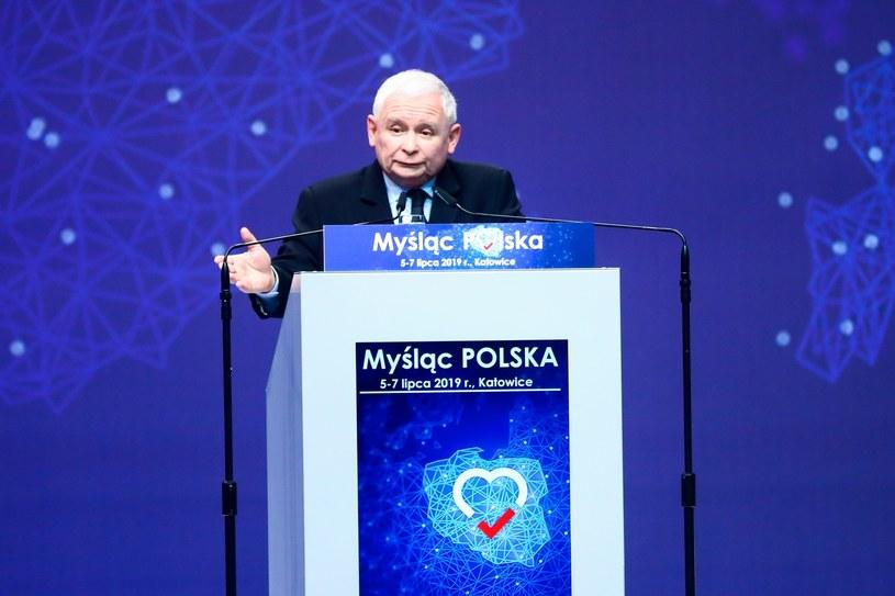 Jarosław Kaczyński /Beata Zawrzel /Reporter