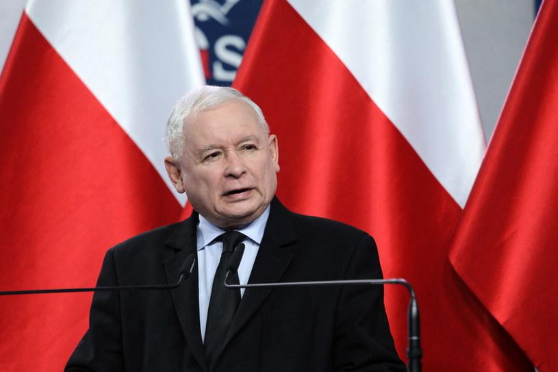 Jarosław Kaczyński / PAP/Tomasz Gzell  /PAP