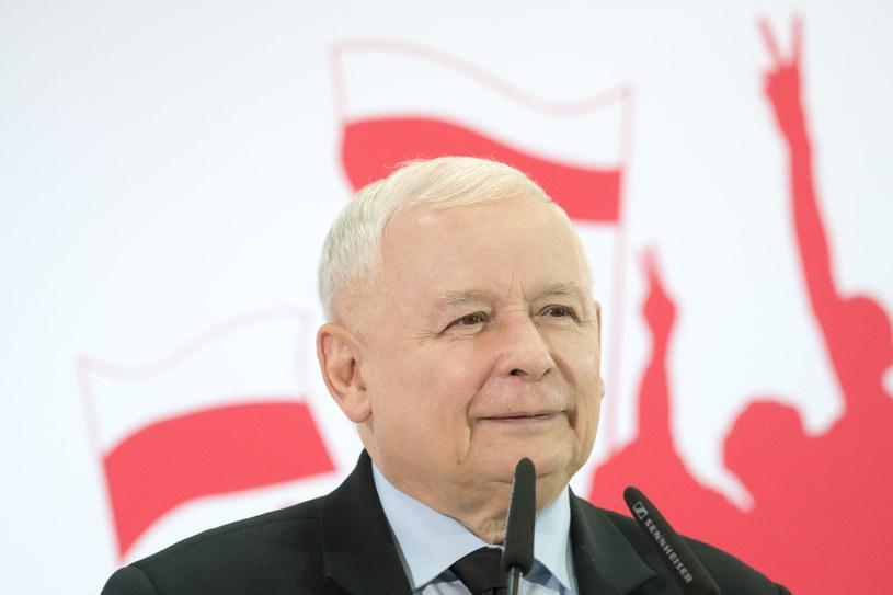 Jarosław Kaczyński /Wojciech Strozyk/ /Reporter