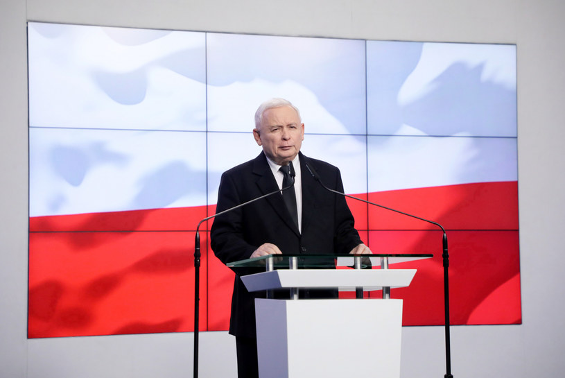 Jarosław Kaczyński /Jakub Kamiński   /East News