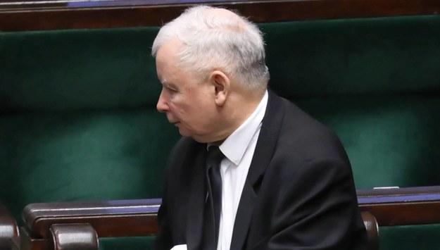 Jarosław Kaczyński / Tomasz Gzell    /PAP