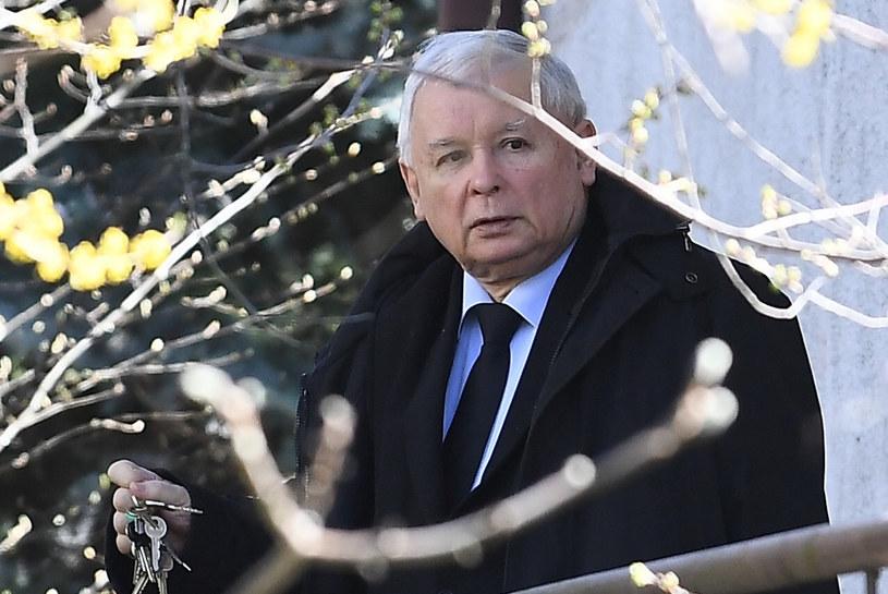 Jarosław Kaczyński /Mateusz Jagielski/East News /East News