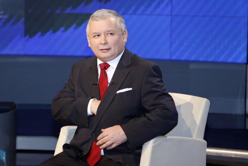 Jarosław Kaczyński /Kurnikowski /AKPA