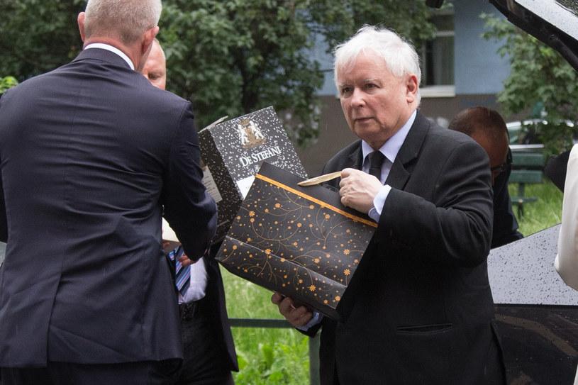 Jarosław Kaczyński /Tomasz Jagodziński /Agencja FORUM