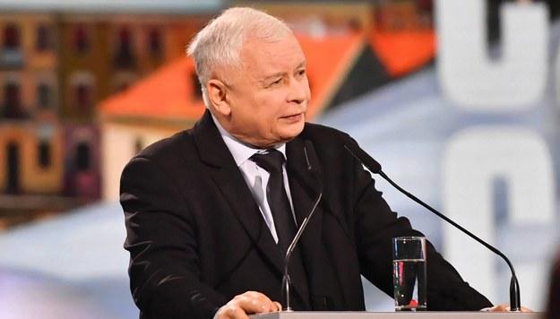 Jarosław Kaczyński /Wojtek Jargiło /PAP