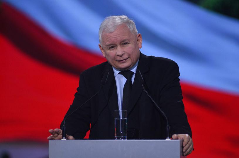 Jarosław Kaczyński /Adam Chelstowski /Agencja FORUM