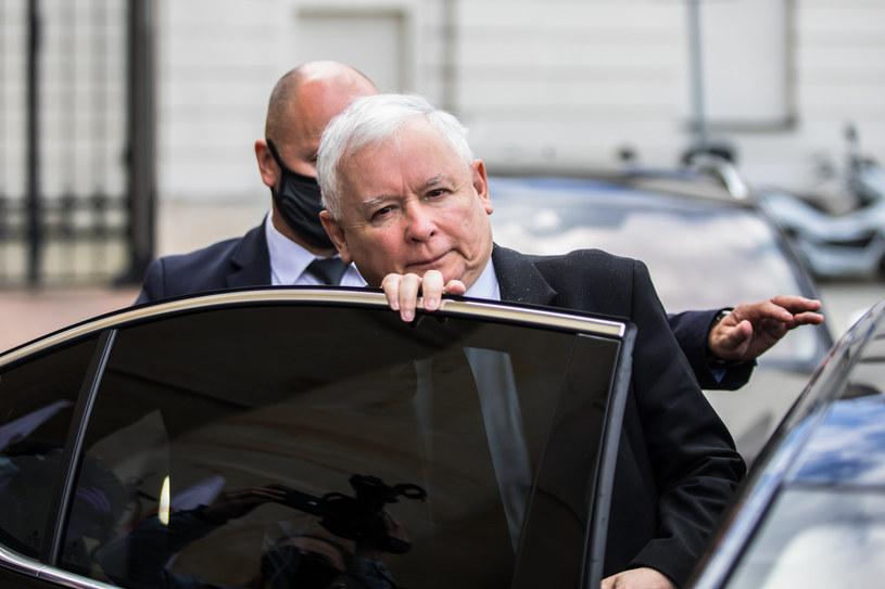 Jarosław Kaczyński /Adam Burakowski /Reporter
