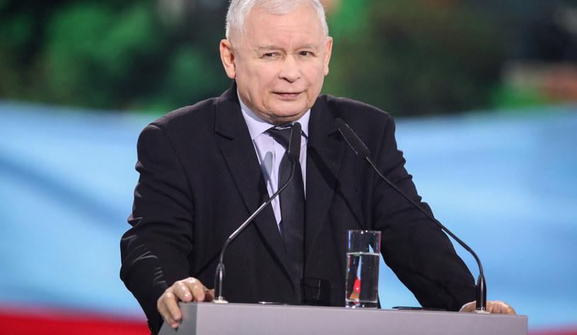 Jarosław Kaczyński /fot. Andrzej Iwanczuk/REPORTER /East News