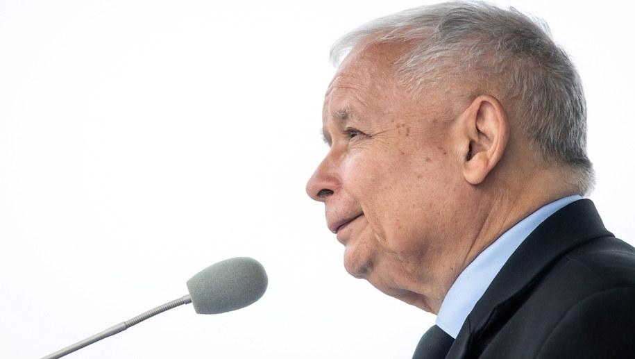 Jarosław Kaczyński / Tytus Żmijewski    /PAP