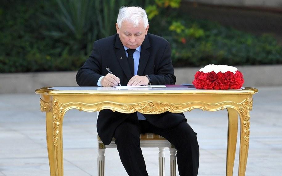 Jarosław Kaczyński / Radek Pietruszka   /PAP