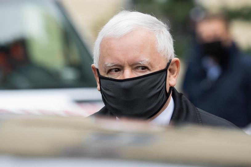 Jarosław Kaczyński /fot. Andrzej Iwanczuk/REPORTER /Reporter