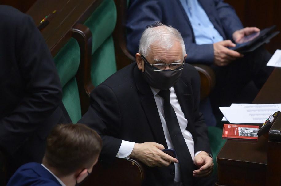 Jarosław Kaczyński / Marcin Obara  /PAP