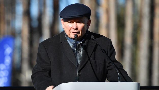 Jarosław Kaczyński / Marcin Bielecki    /PAP
