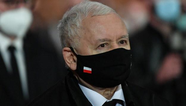 Jarosław Kaczyński / Adam Warżawa    /PAP