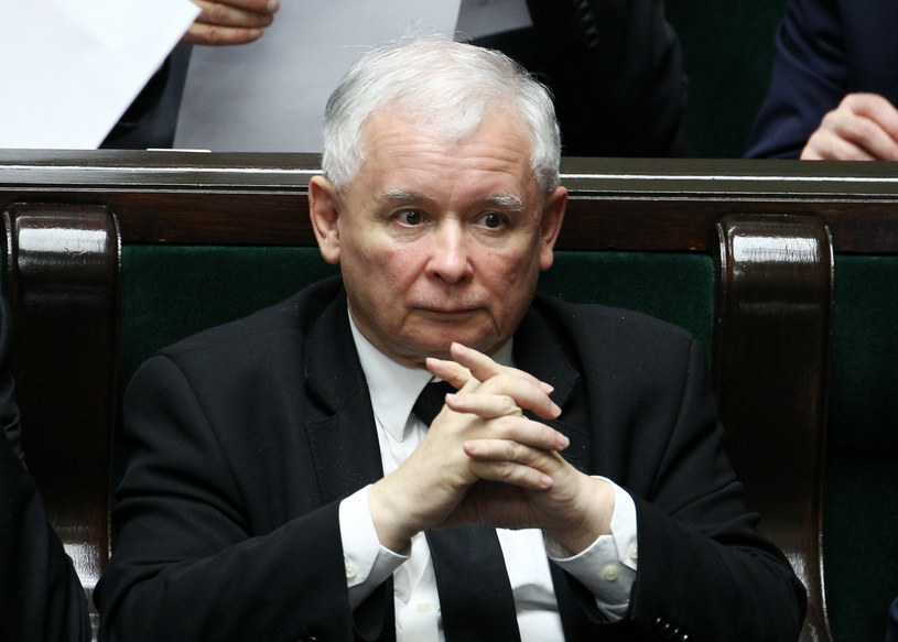 Jarosław Kaczyński /Fot. Stanislaw Kowalczuk /East News