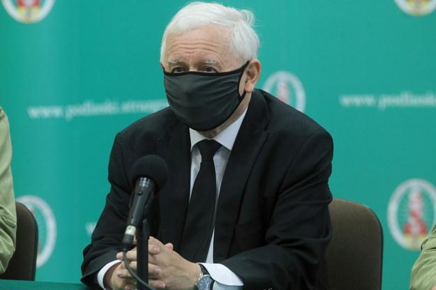 Jarosław Kaczyński / Artur Reszko    /PAP