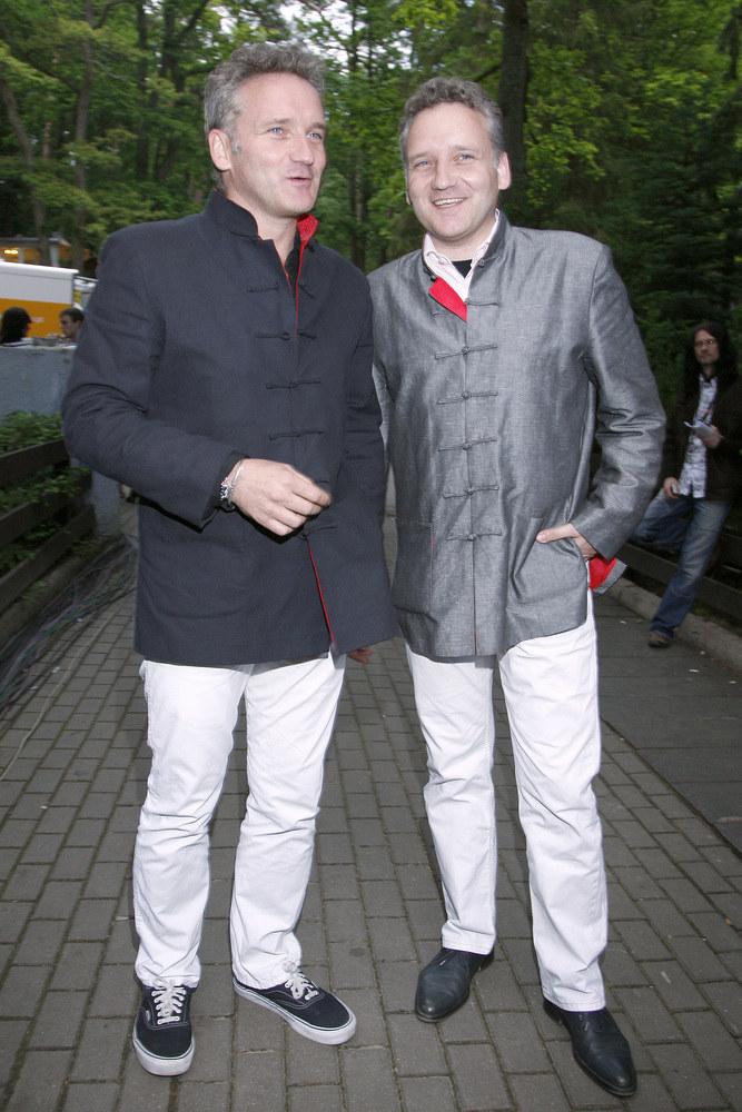 Jarosław Kret z bratem Jackiem /Grabczewski /AKPA