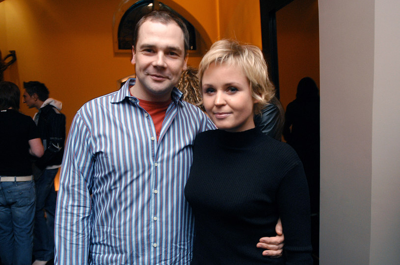 Jarosław Kulczycki z byłą partnerką i mamą Filipa, Mileną /Prończyk /AKPA