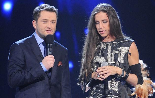 Jarosław Kuźniar i Michał Szpak, fot. Jarosław Antoniak  /MWMedia