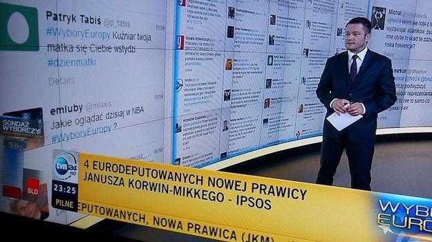 """Jarosław Kuźniar musiał widzieć """"hejtujące"""" wpisy. /"""