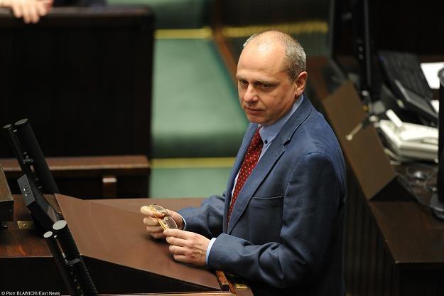 Jarosław Neneman, wiceminister finansów. Fot. Piotr Blawicki /Agencja SE/East News