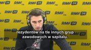 Jarosław Rosłon: Minister Zembala wrzucił granat w system ochrony zdrowia? Dla mnie to coś takiego
