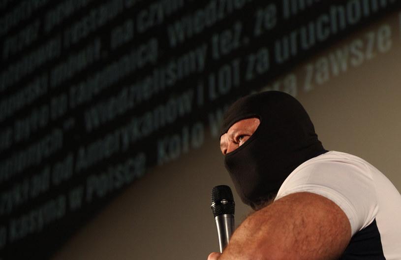"""Jarosław S, pseudonim """"Masa"""" jest od 2000 roku świadkiem koronnym /Stefan Maszewski /Reporter"""