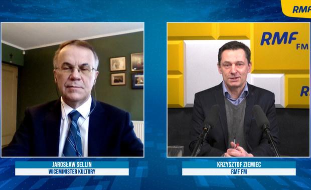 Jarosław Sellin o podatku od reklam: To nie jest gotowy projekt, to są pewne rzucone pomysły