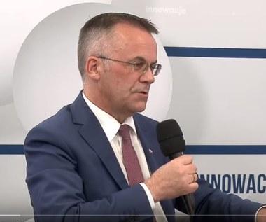 Jarosław Sellin, wiceminister Kultury i Dziedzictwa Narodowego w studiu Interii