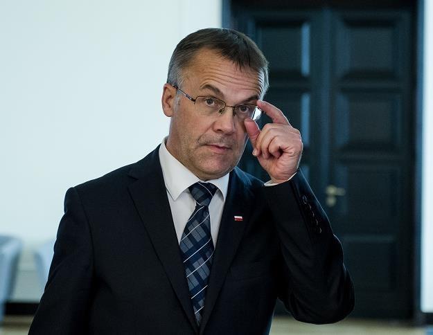 Jaroslaw Sellin, wiceminister kultury i dziedzictwa narodowego. Fot. Rafal Oleksiewicz /Reporter