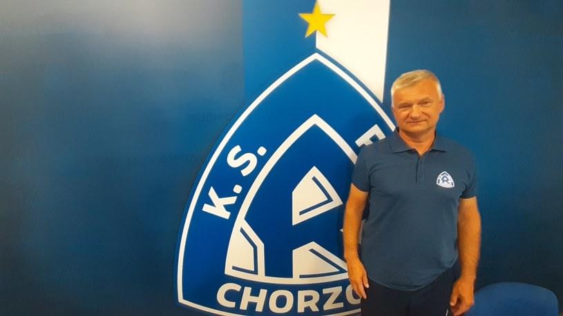 Jarosław Skrobacz, trener Ruchu Chorzów /Paweł Czado /INTERIA.PL