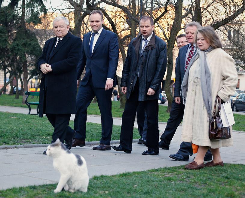 Jarosław to wielki miłośnik kotów /- /East News