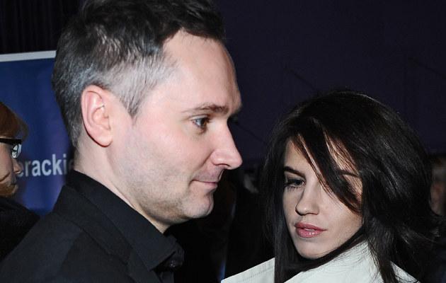 Jarosław Wałęsa z żoną Eweliną /MWMedia