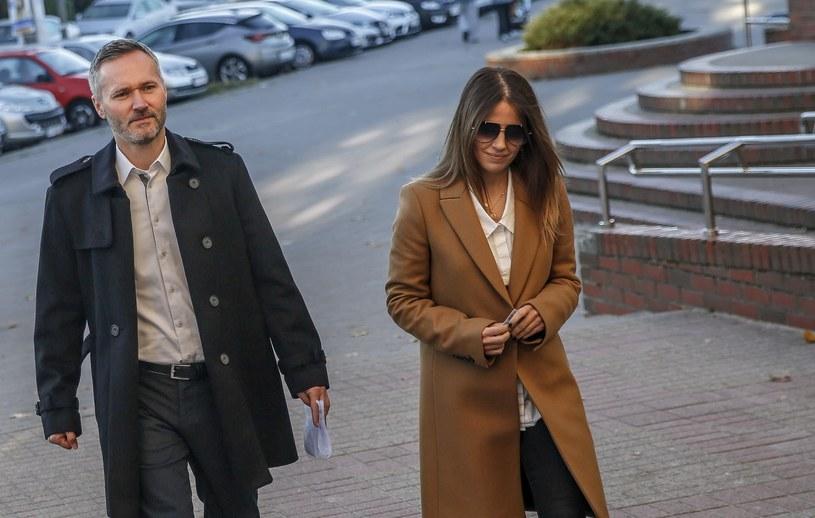 Jarosław Wałęsa z żoną /Karolina Misztal /Reporter