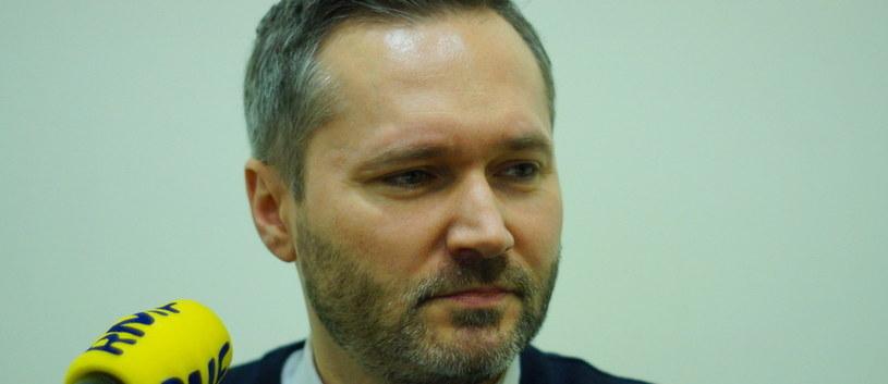 Jarosław Wałęsa /RMF FM