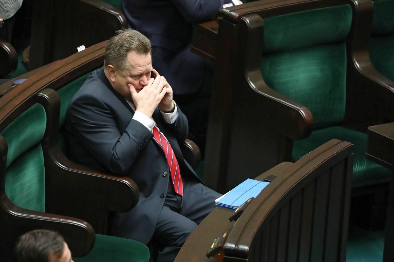 Jaroslav Зелиньский has koronawirusa. The Deputy is in the hospital