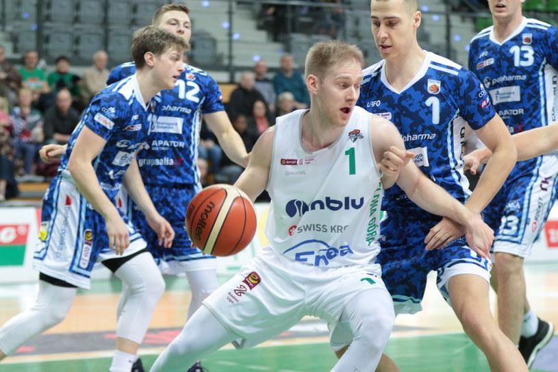 Jarosław Zyskowski (z piłką) /Piotr Jędzura /East News