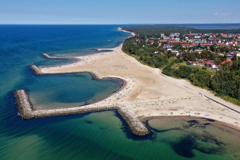 Jarosławiec może się poszczycić plażą na miarę Dubaju /Lukasz Dejnarowicz /Agencja FORUM