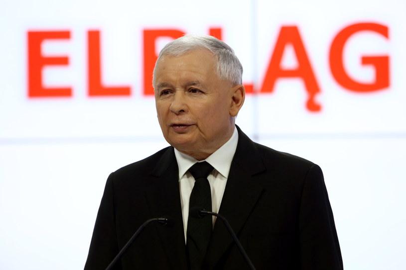 Jarsoław Kaczyński /Tomasz Gzell /PAP