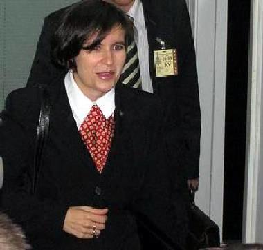 Jarucka była przesłuchiwana za zamkniętymi drzwiami ze względu na stan zdrowia /INTERIA.PL