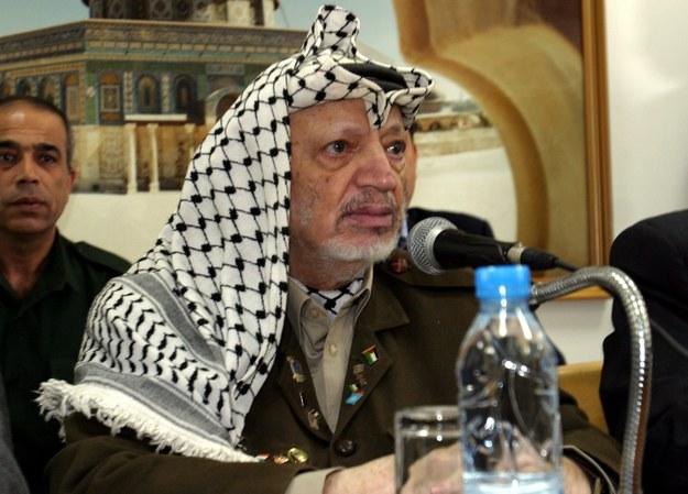 Jasir Arafat /ATEF SAFADI  /PAP/EPA