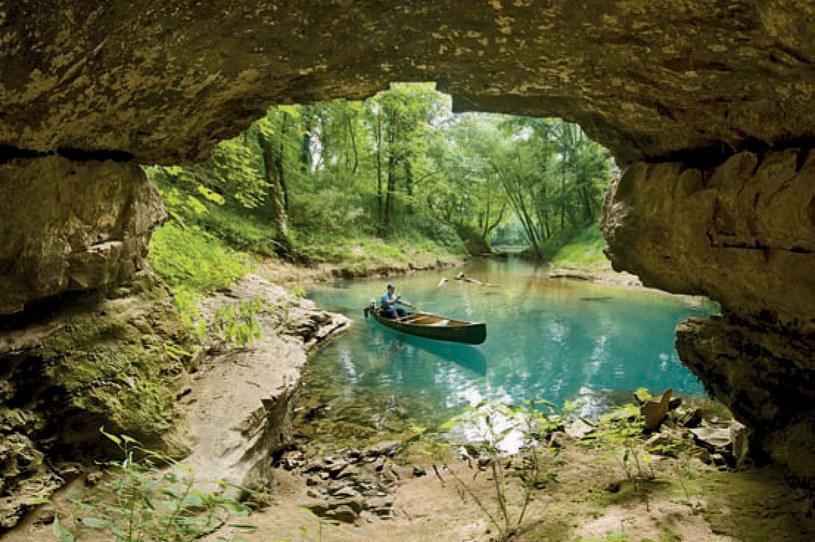 Jaskinia znajduje się na terenie parku narodowego /Gary Berdeaux/MCT/Tribune News Service via Getty Images /Getty Images