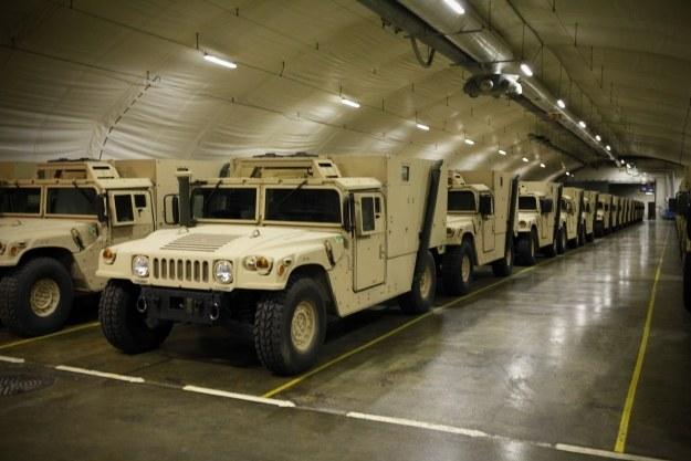 Jasknie mogą pomieścić 400 pojazdów       Fot. United States Marine Corps/Lance Cpl. Marcin Platek /materiały prasowe