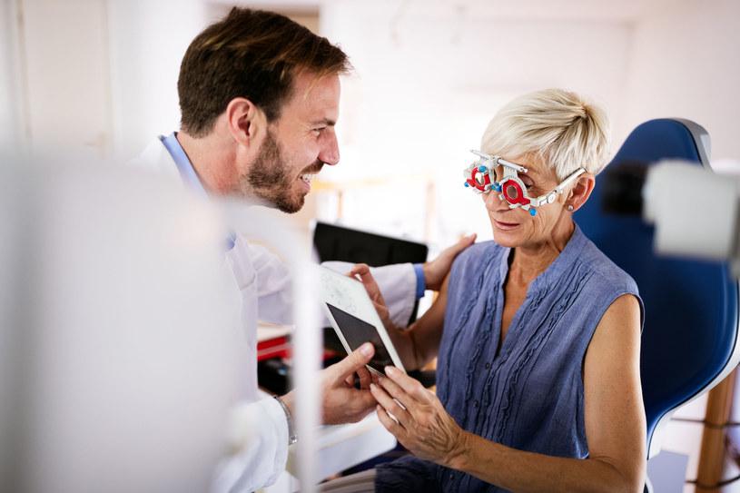Jaskrę najczęściej powoduje nieprawidłowe ciśnienie w oku /123RF/PICSEL