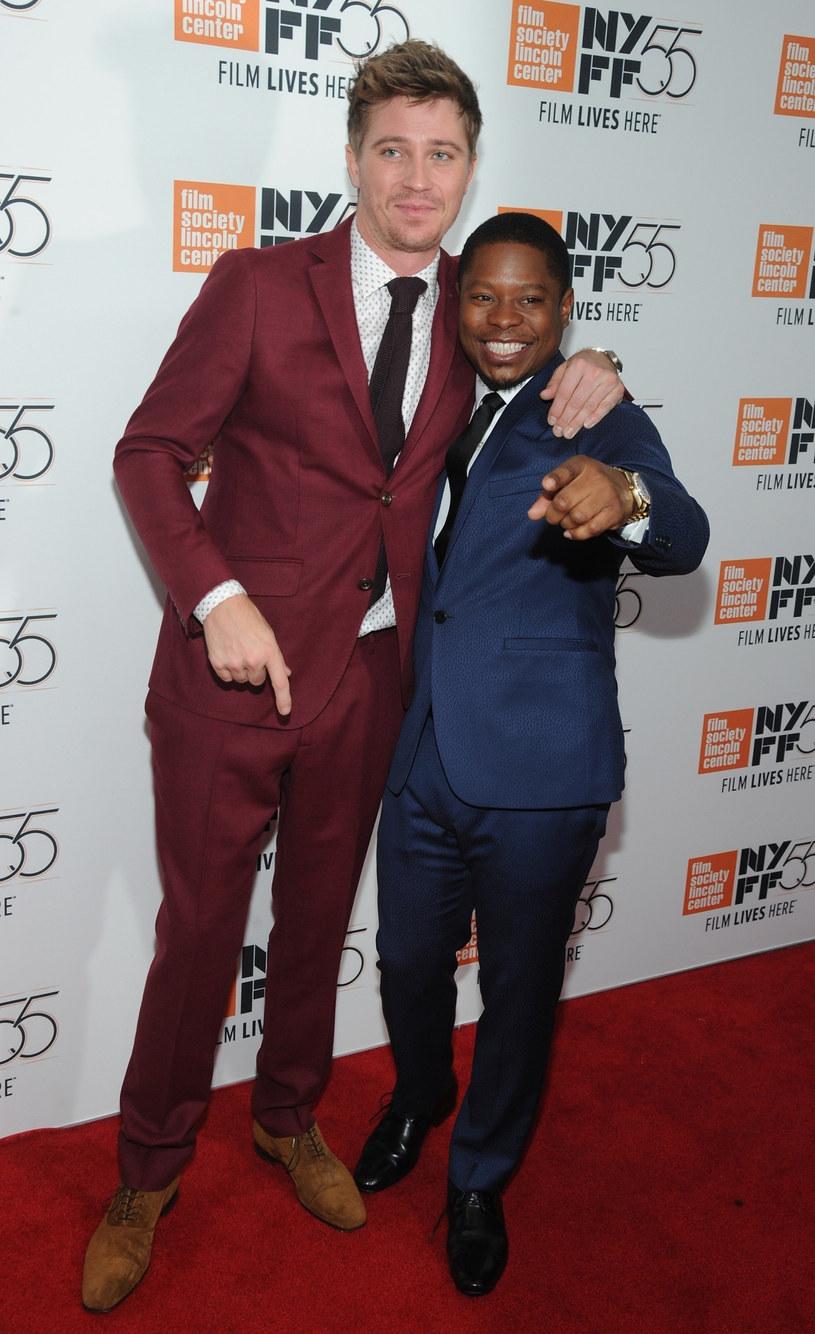 "Jason Mitchell na premierze filmu ""Mudbound"" /BACKGRID /East News"