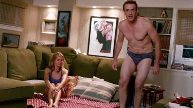 """Jason Segel w samej bieliźnie w zwiastunie """"Sekstaśmy"""" - fot. YouTube /"""